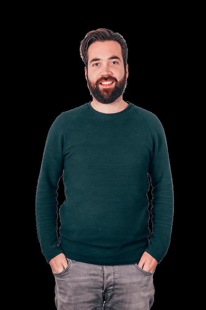 Dit is onze contactpersoon Vincent van Laarhoven, met hem kan je contact opnemen