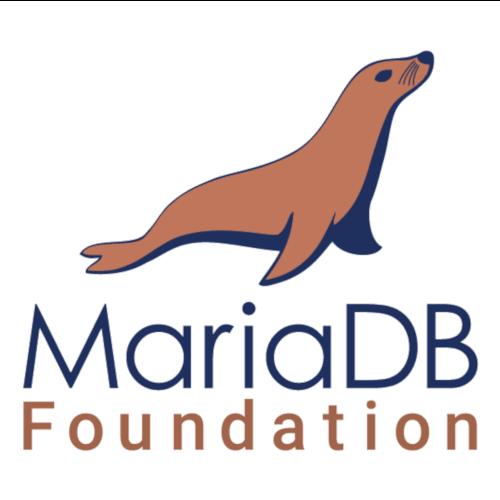 Logo van MariaDB Foundation